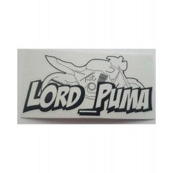 Lot de 2 Stickers Lord Puma CB 500