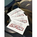 Lot de 4 Stickers Lord Puma Street R Profil