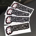 Lot de 4 Stickers TEAMPUMA