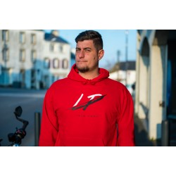 Sweat rouge à capuche Logo LP / Lord Puma